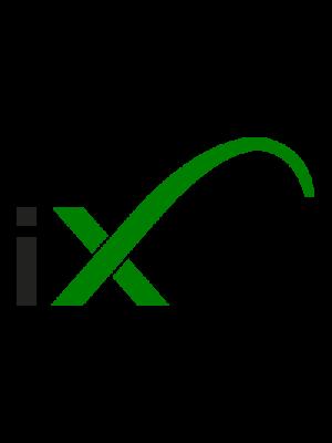 STREETZ Bluetooth-headset med nackband, BT 4.1, vattentåliga, grå