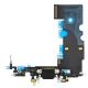 Flexkabel laddkontakt & mik Iphone 8/SE 2020 Svart
