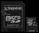 Micro SD kort 64GB Kingston med adapter