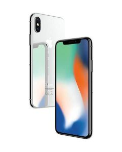 Begagnad iPhone X 256GB Silver Grade A