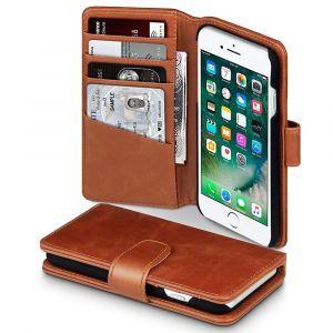 Plånboksfodral till iphone 7 Brun